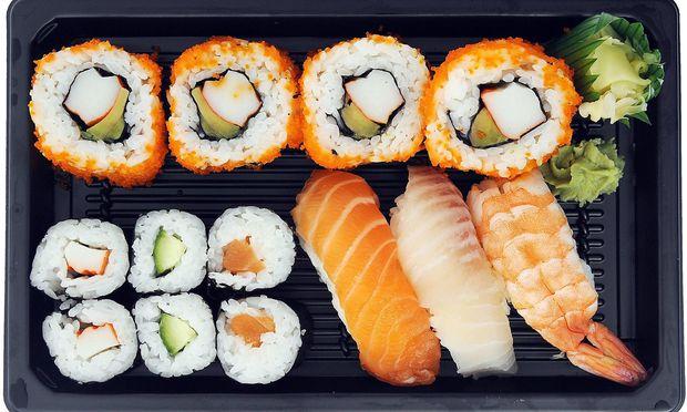 Sushi take away BLWX053200 Copyright xblickwinkel McPhotox IngoxSchulzx