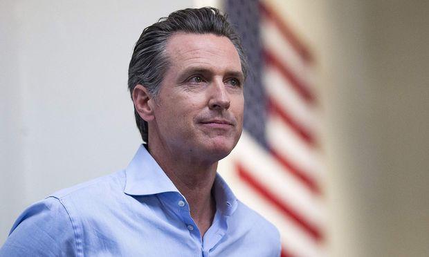 Kaliforniens Neo Gouverneur Gavin Newsom
