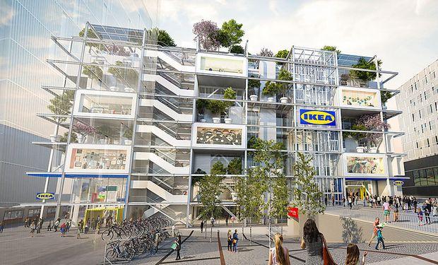 So soll die neue Ikea-Filiale aussehen.