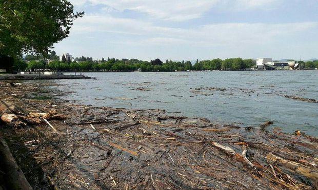 Wasserstand am Bodensee auf höchstem Stand seit drei Jahren