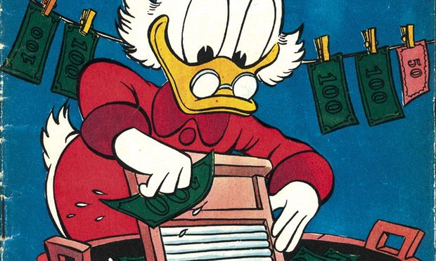 Dagobert Duck Heuschrecke Erpelform