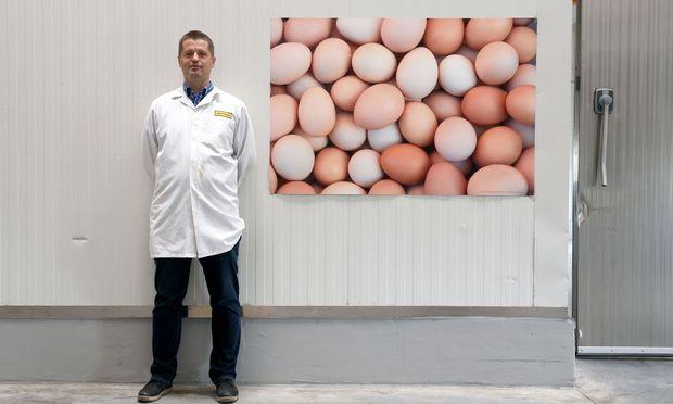 Andreas Hütter leitet die beiden Betriebe Gnaser Frischei und Eivita.