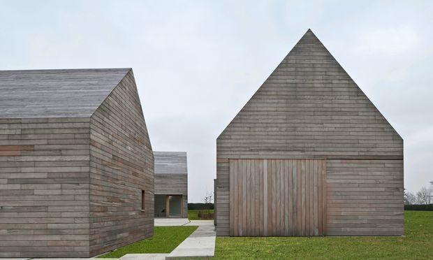 """Minimalistisch. """"DC2"""", ein privates Landhaus in Temse, Belgien, verbindet Tradition und Moderne."""