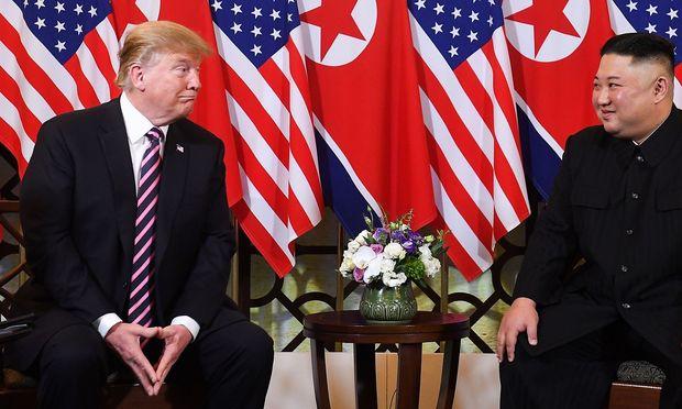 US-Präsident Donald Trump und Nordkoreas Machthaber Kim Jong-un.