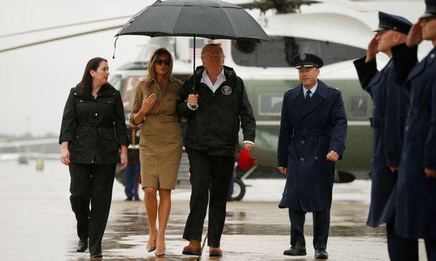 U.S. President Donald Trump departs Washington aboard Air Force One