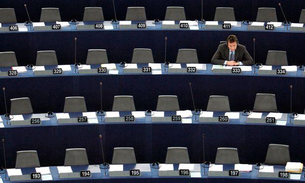 """""""Die tun nichts im EU-Parlament? Kann ich nicht mehr hören."""""""