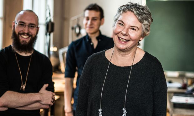 Tobias Gutlederer, Philipp Missaghi und Susanne Hammer.