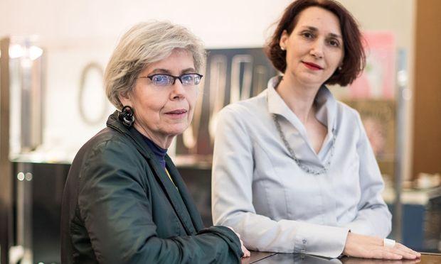 Veronika Schwarzinger (l.) und Christina Werner.