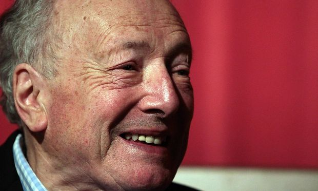 April 25 2012 London London United Kingdom Film director Robin Hardy at the premiere of the W
