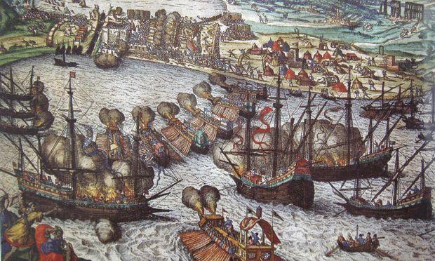 Attacke auf La Goletta: Der Tunisfeldzug Karl V. führte zur Versklavung der muslimischen Bevölkerung.