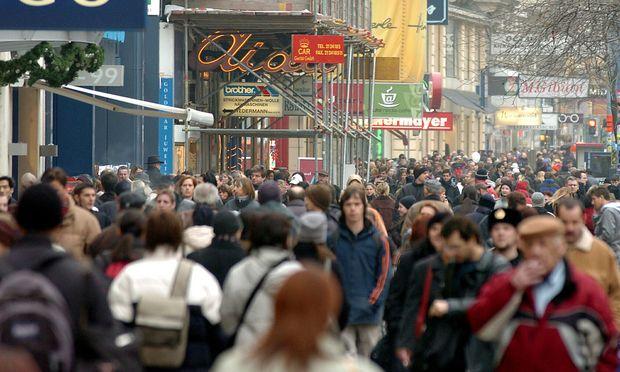 Vor allem in Wien ist die Bevölkerung seit Jänner 2017 stark angestiegen.