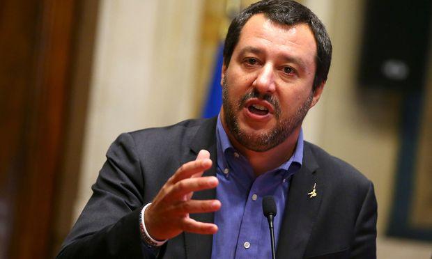 Italiens Innenminister und Vize-Regierungschef Matteo Salvini