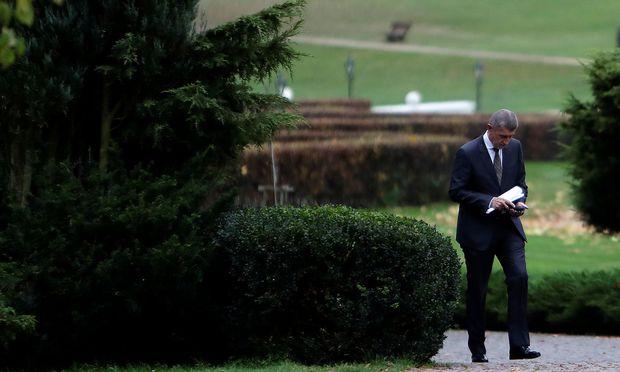 Wegen der Korruptionsvorwürf weigern sich manche tschechische Parteien, Andrej Babis als Regierungschef zu akzeptieren. / Bild: REUTERS