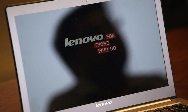 Computerhersteller Lenovo China steigt