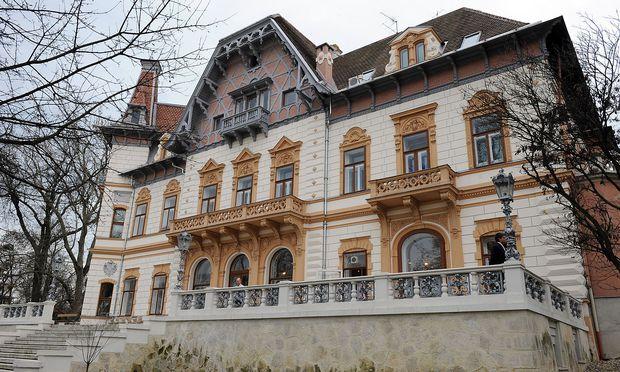 Das Springer-Schlössl, Sitz der Politischen Akademie der ÖVP