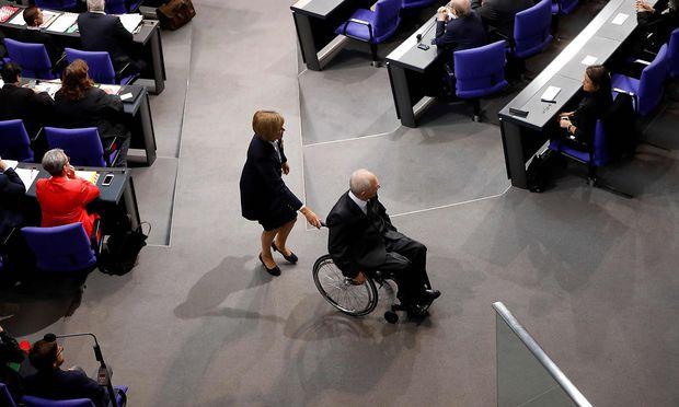 Wolfgang Schäuble sieht Kompromisse nicht als Profilschwäche