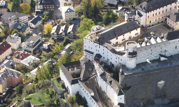 Sturmschäden auf der Festung Hohensalzburg
