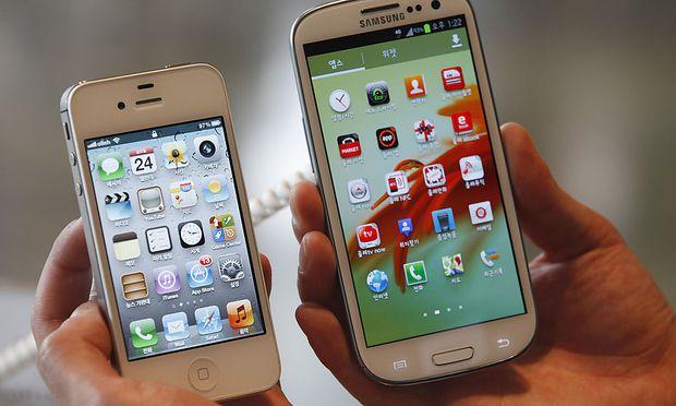 Galaxy loest iPhone beliebtestes