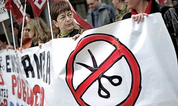 SPANIEN PROTEST