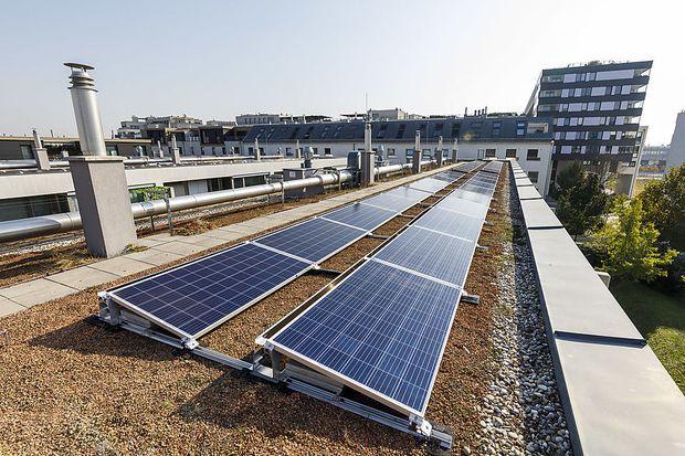 Die erste Wiener Gemeinschafts-Photovoltaikanlage läuft seit Herbst 2018 in der Donaustadt.