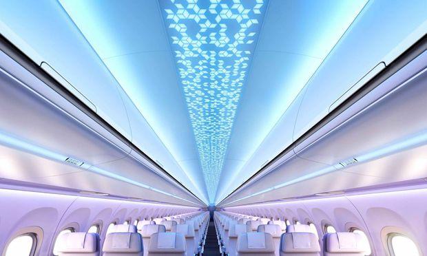 FACC hat sich als Technologiepartner von Airbus in der Entwicklung und Fertigung der Gepäckablagen und Deckenpaneele bewährt. Diese Woche folgte ein neuer Großauftrag. / Bild: (c) Airbus