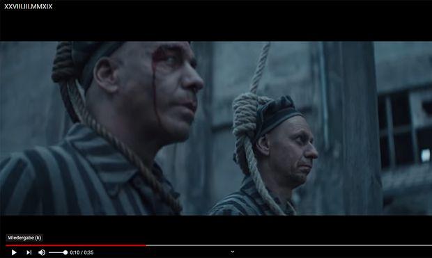 Rammstein Provoziert Mit Kz Anspielungen In Neuem Video Diepressecom