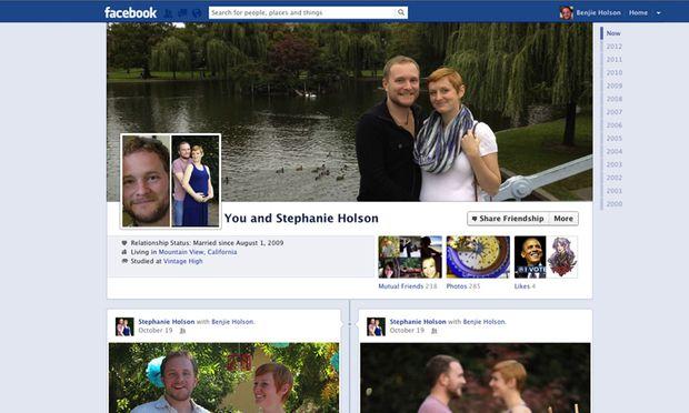 Facebook Neues Design fuer
