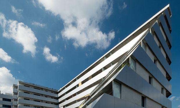 Auch Wohnhäuser wie das Europan 6 (Fickeystr. 3–7) können im Rahmen von Open House Wien besichtigt werden.