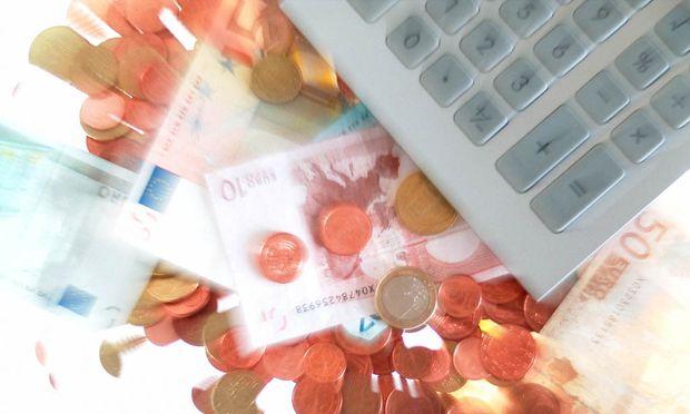 Taschenrechner und Eurogeld