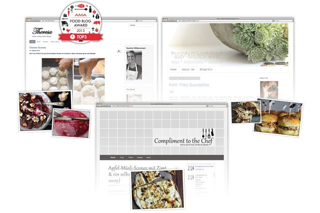 die besten food blogs schaufenster. Black Bedroom Furniture Sets. Home Design Ideas
