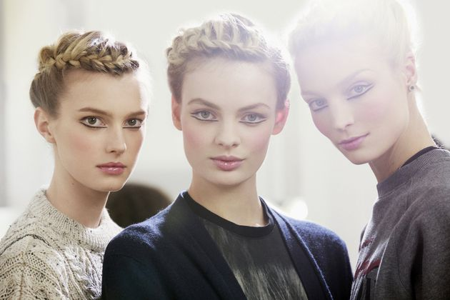 Paris-Edimbourg (Métiers d'Art 2012-13), CHANEL Show Backstage, Makeup Peter Philips, CHANEL, photographer Vincent LAPPARTIENT