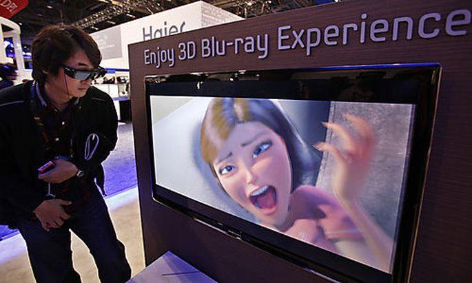 3D wurde auf der CES ganz groß gespielt