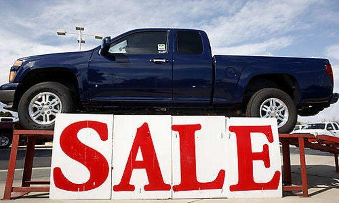 General Motors-Absatz bricht ein