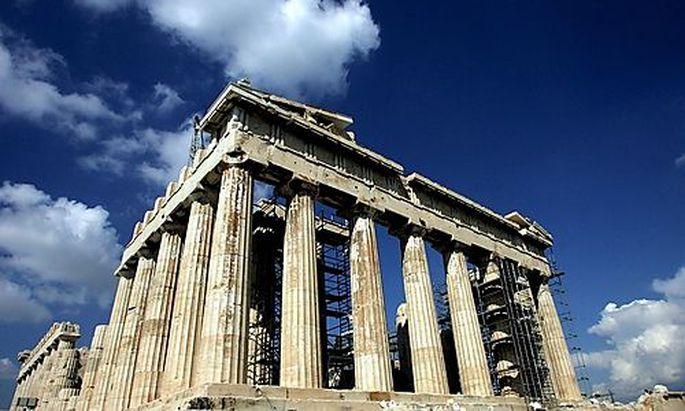 GREECE ACROPOLIS TOP MONUMENT