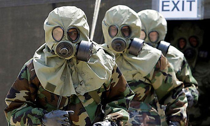 Symbolbild chemische Waffen