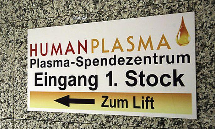 Symbolfoto: Humanplasma in Wien
