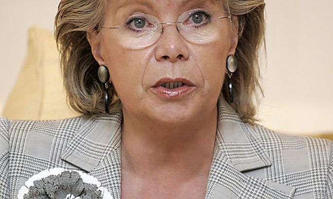 , EU-Kommissarin Viviane Reding
