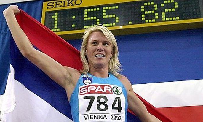 Jolanda Ceplak 2002 in Wien