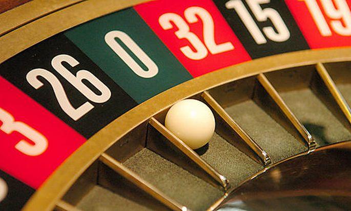Casino, Gl�cksspiel, Roulette, Geld, Spielsucht Foto: Clemens Fabry