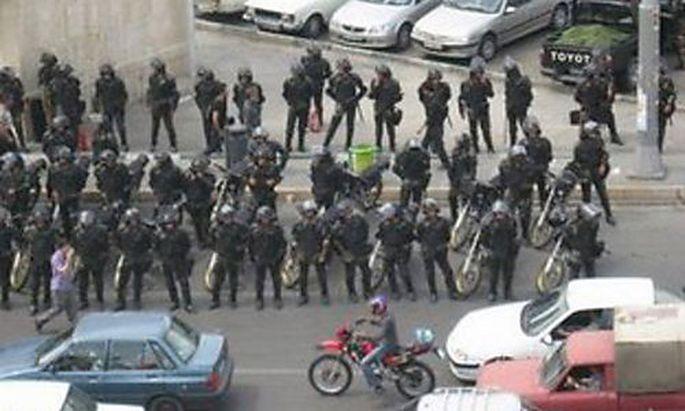Polizeieinsatz in Teheran