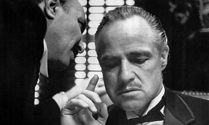 Marlon Brando als Don Corleone in
