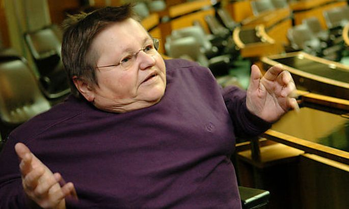Theresia Haidlmayer, Die Gruenen, Parlament, barrierefreier Zugang, Behinderte Menschen, Behinderung