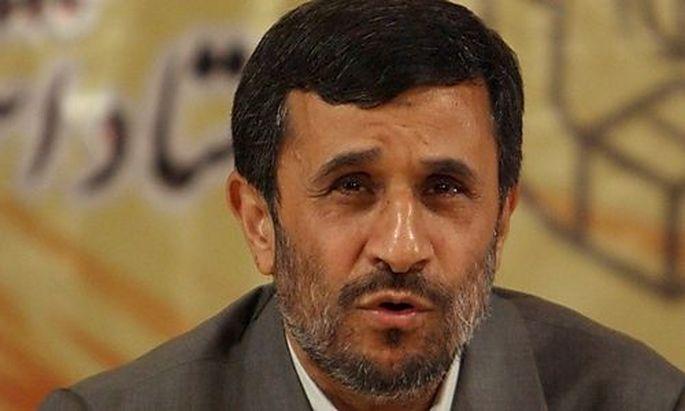 IRAN ELECTION AHMADINEJAD