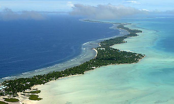Kleine Inselstaaten fürchten sich vor dem Klimawandel