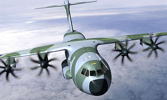 ** FILE ** A computer generated image made available by Airbus, Oct. 6, 2006, showing its planned mil