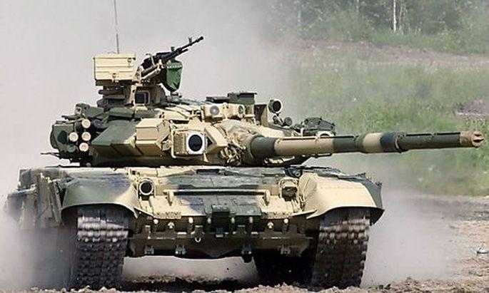 Russischer Panzer T90S