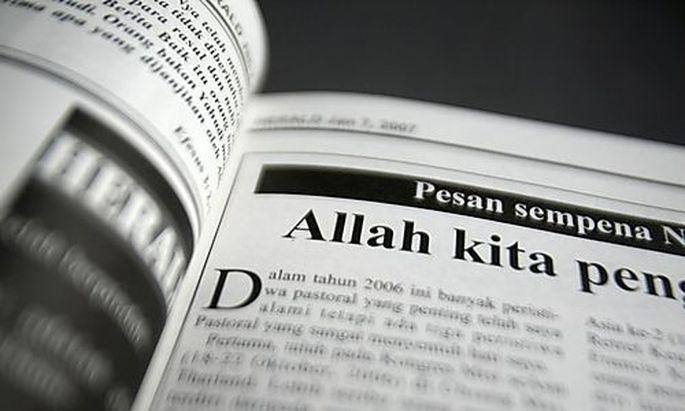 Allah Gott Malaysia