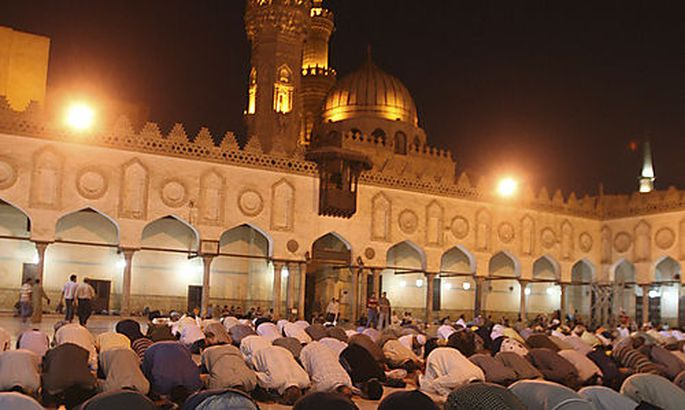 Symbolfoto: Moslems in Kairo
