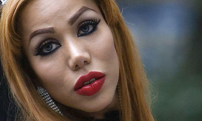 Eine mexikanische Transsexuelle