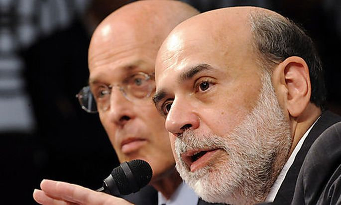 Henry Paulson, Ben Bernanke